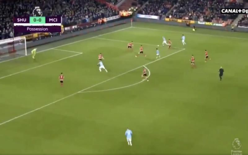 Kevin De Bruyne pakt bij Man City uit met fenomenale actie (VIDEO)