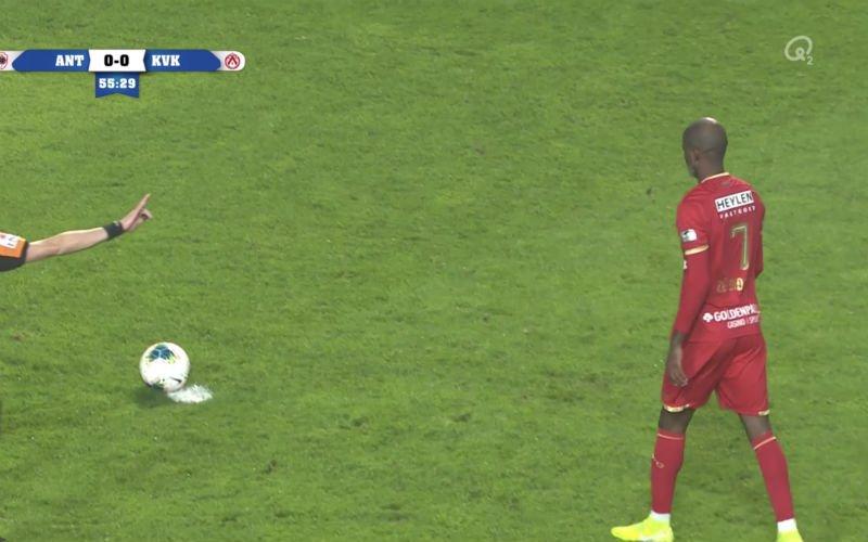 Lamkel Zé doet een 'Diagne'ke', Antwerp-fans zijn woest