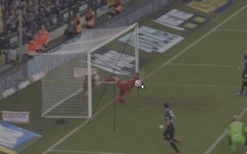 Dit is het bewijs: bal wel degelijk over de lijn bij goal van Vanaken (VIDEO)