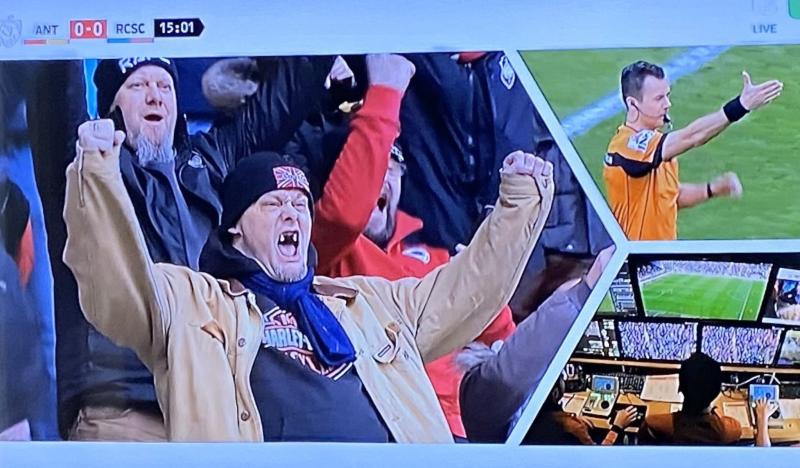 Erg enthousiaste Antwerp-fan gaat viraal na goal van Ivo Rodrigues
