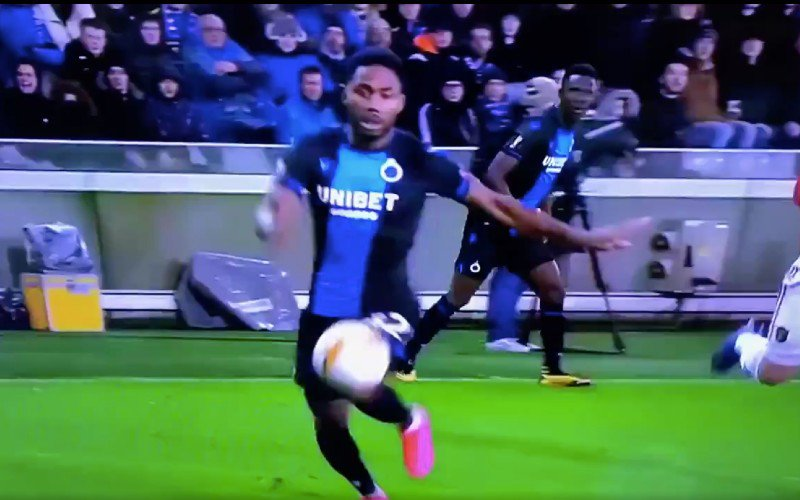 Kijkers spreken schande over deze fase in Club Brugge-Manchester United (VIDEO)
