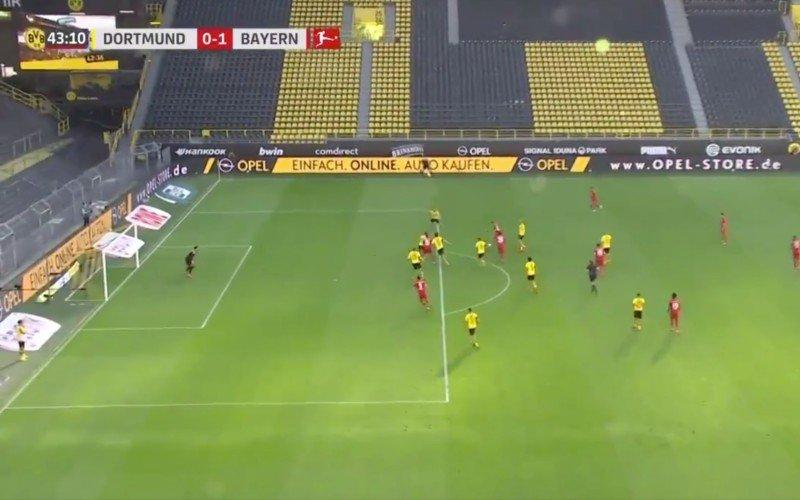 Joshua Kimmich maakt fantastische goal tijdens Dortmund-Bayern (VIDEO)