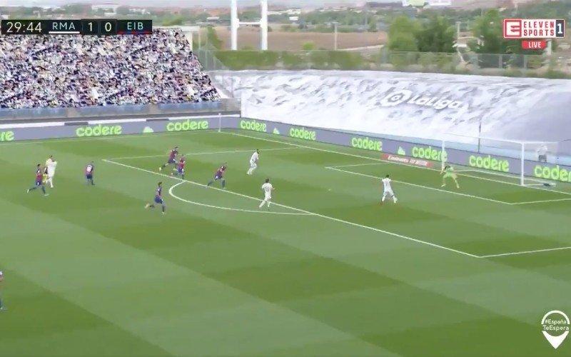 Eden Hazard maakt meteen indruk bij Real Madrid (VIDEO)