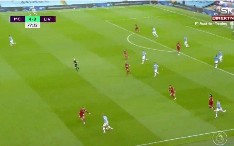 De Bruyne maakt Henderson compleet belachelijk tijdens Man City-Liverpool (VIDEO)