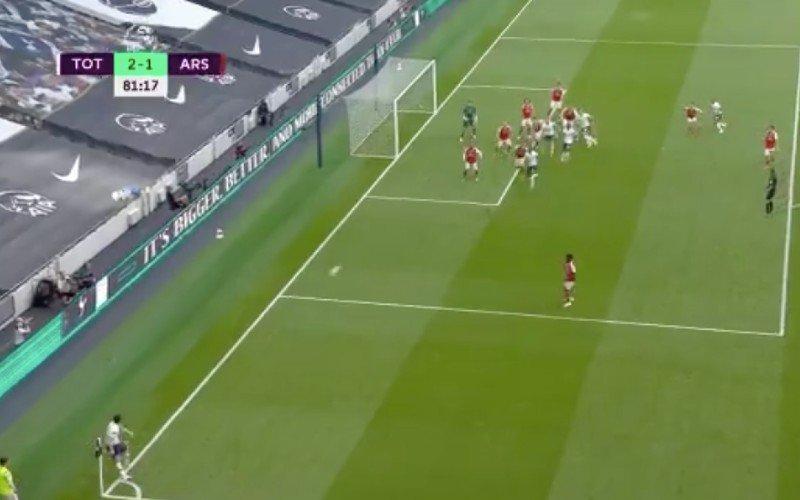 Toby Alderweireld maakt heerlijke goal in Tottenham-Arsenal (VIDEO)
