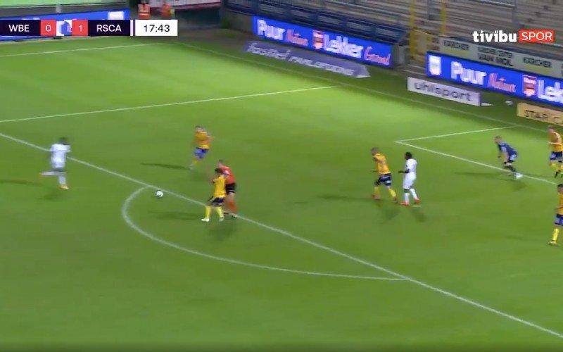 Jérémy Doku maakt indruk met heerlijke goal bij Anderlecht (VIDEO)