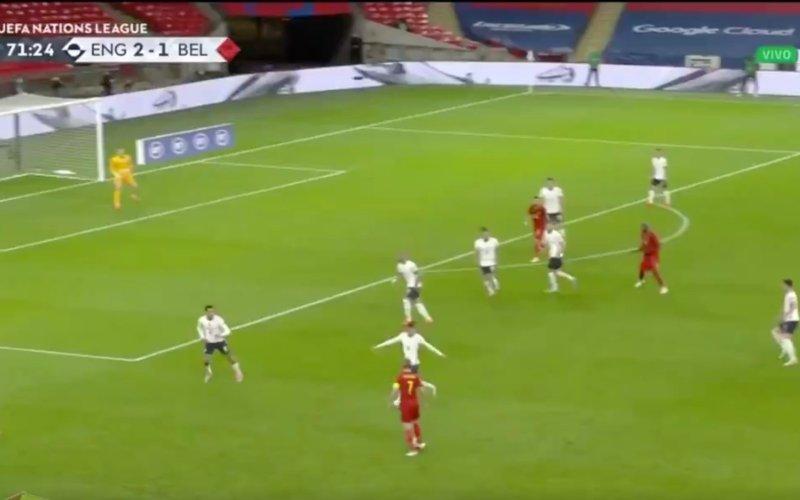 Onwaarschijnlijk: En dan doet De Bruyne dit tegen Engeland (VIDEO)