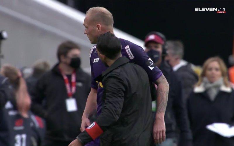Losada en Holzhauser met elkaar in de clinch na verlies tegen Antwerp