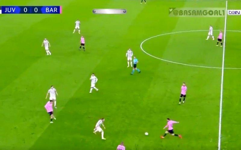 Ongelooflijke assist van Lionel Messi bij Barcelona (VIDEO)