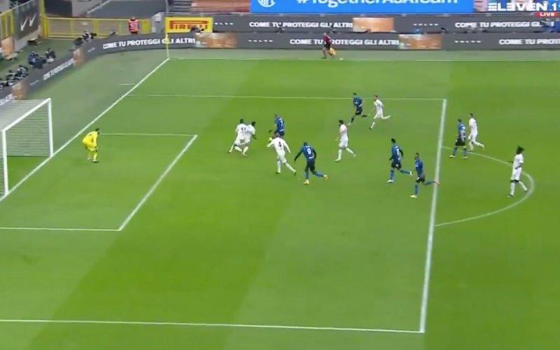 Romelu Lukaku speelt álles kapot bij Inter (VIDEO)