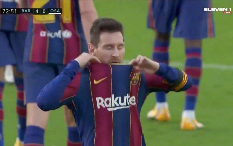 Lionel Messi brengt na heerlijke goal hulde aan Diego Maradona (VIDEO)