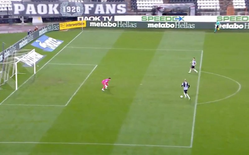 Krmencik komt alleen voor doel bij PAOK en kijk wat hij dan doet (VIDEO)