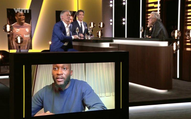 VTM beleeft tijdens Gouden Schoen erg vervelend moment met Romelu Lukaku