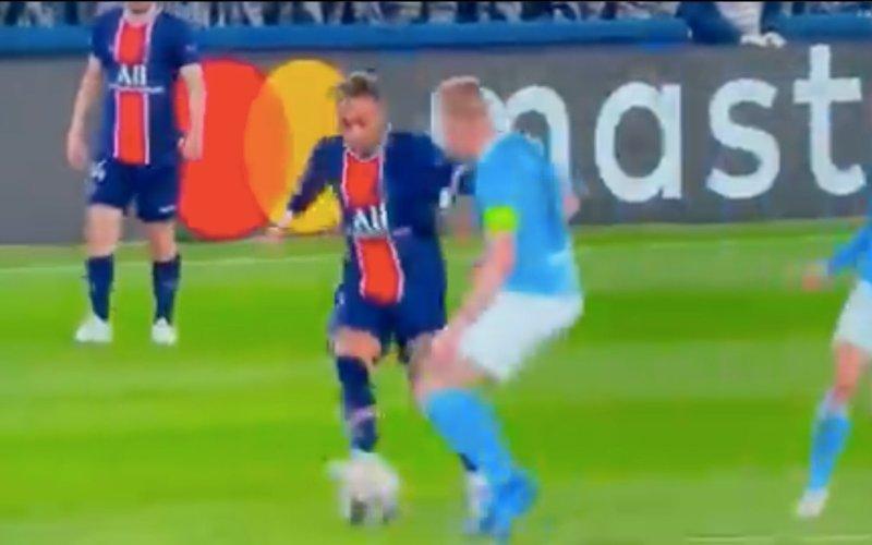Iedereen spreekt over beelden van De Bruyne en Neymar: