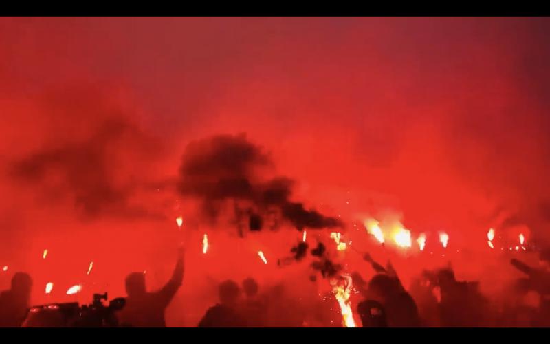Waanzinnige beelden in aanloop naar Club Brugge-Anderlecht (VIDEO)