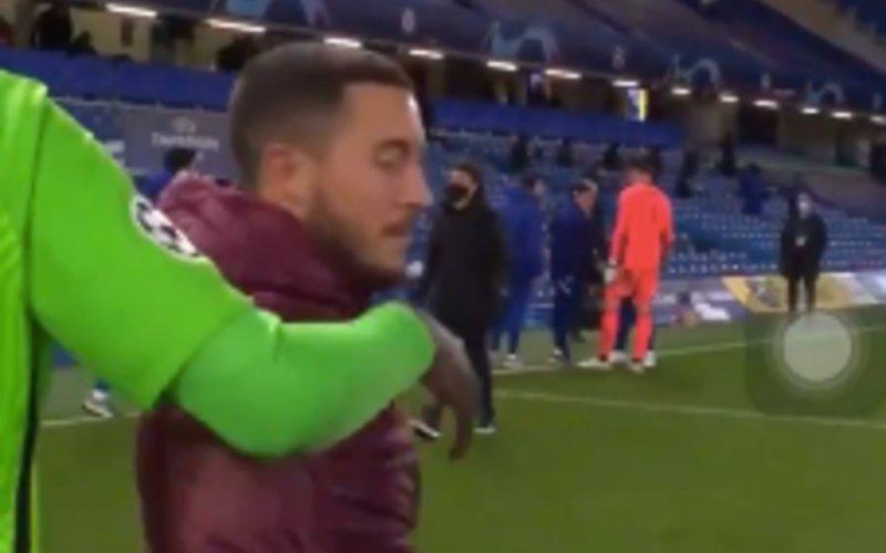 Eden Hazard zorgt voor ophef na Chelsea-Real: