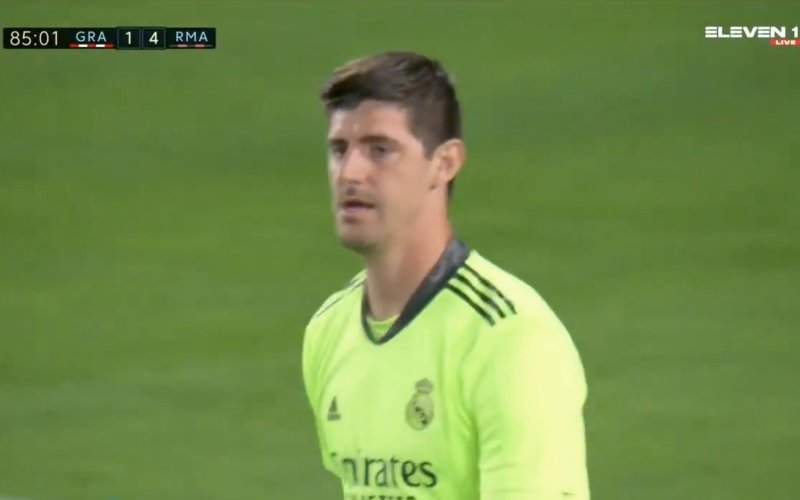 Thibaut Courtois verbaast iedereen: