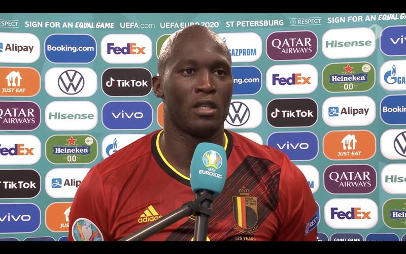 Romelu Lukaku verbaast iedereen na België-Rusland: