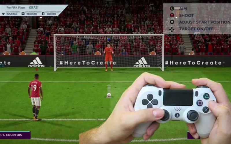 Zo trap je de perfecte penalty in FIFA 18 (video)