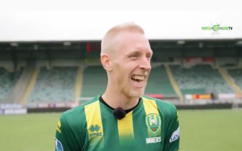 Ex-speler Club Brugge Lex Immers geeft hilarisch interview (video)