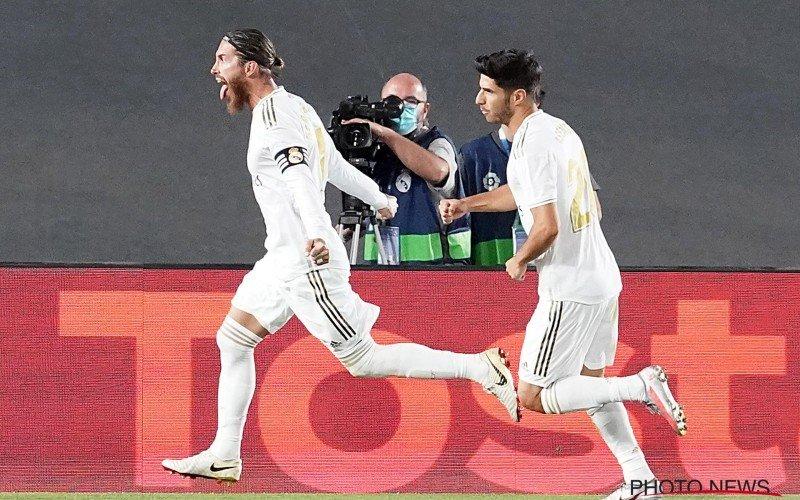 Sergio Ramos zorgt opnieuw voor de zege, Real Madrid stap dichter bij titel