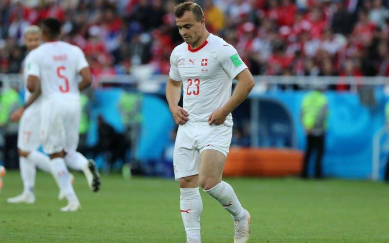 Kleine Shaqiri plots grote man na winnende treffer tegen Servië
