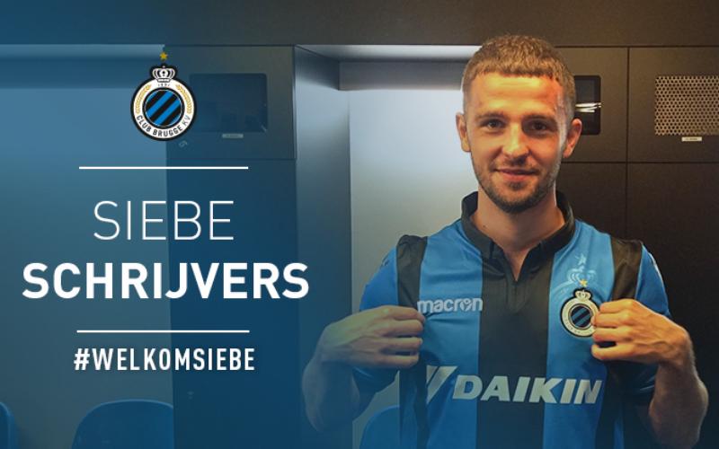 DONE DEAL: Club Brugge haalt Siebe Schrijvers weg bij Genk