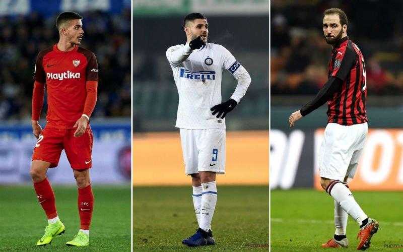 'Chelsea heeft keuze tussen Higuain, Icardi en Silva gemaakt en slaat toe'