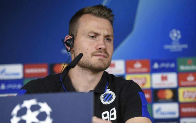 Mignolet schrikt zich rot bij Club Brugge: