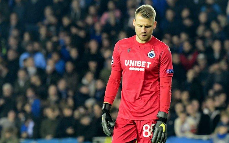 Erg verrassend: 'Simon Mignolet verlaat Club Brugge mogelijk alweer'