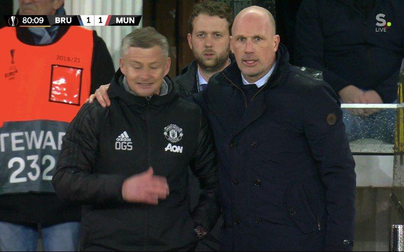Clement bezorgt Solskjaer érg pijnlijk moment tijdens Club Brugge-Man Utd