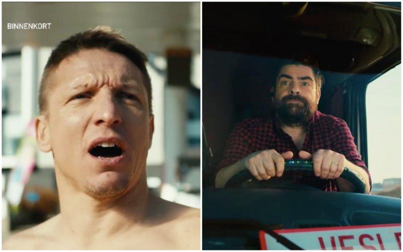 Wesley Sonck en Pedro Elias stelen de show in eerste filmpje van 'De Container Cup'