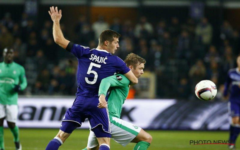 'Anderlecht neemt opmerkelijke beslissing over toekomst van Spajic'