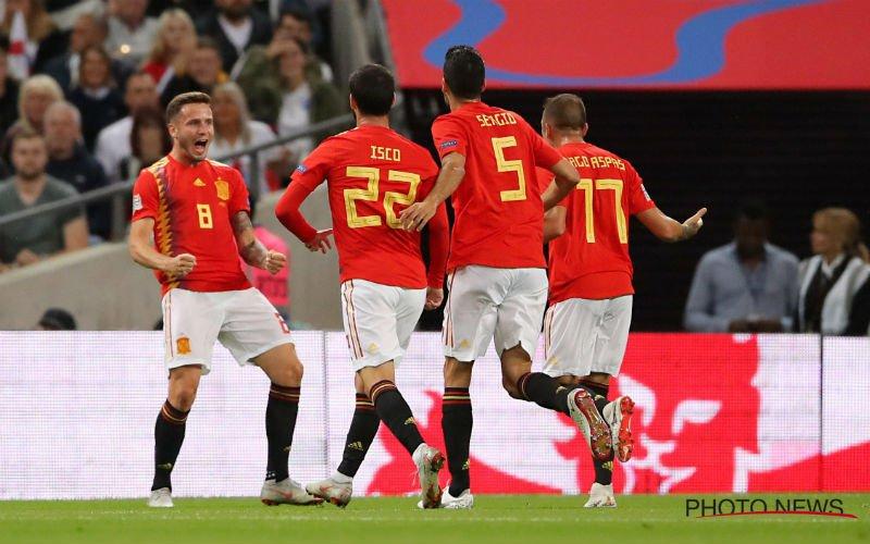 Engeland verliest in eigen huis van Spanje na match met twee gezichten