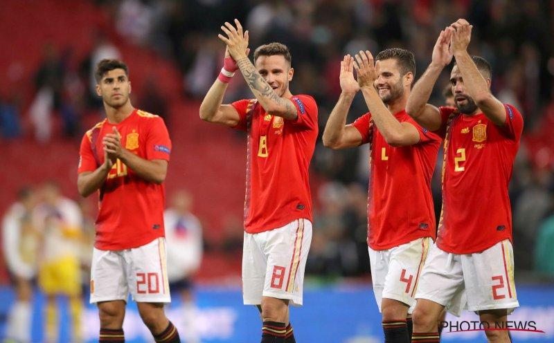 Spanje imponeert, Asensio scoort 2x weergaloos