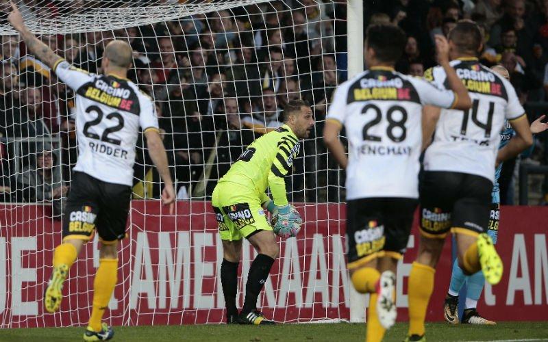 Lokeren en Charleroi gelijk, Club Brugge alweer lachende derde