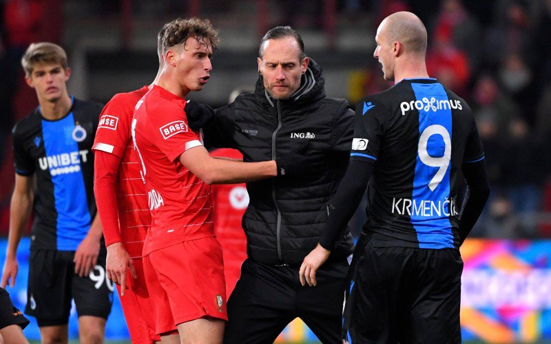 Standard en Club Brugge verdelen de buit na potige topper
