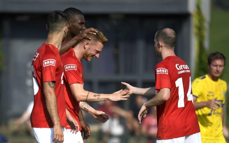 Standard wint eerste oefenpot met 0-5, nieuwkomer scoort meteen