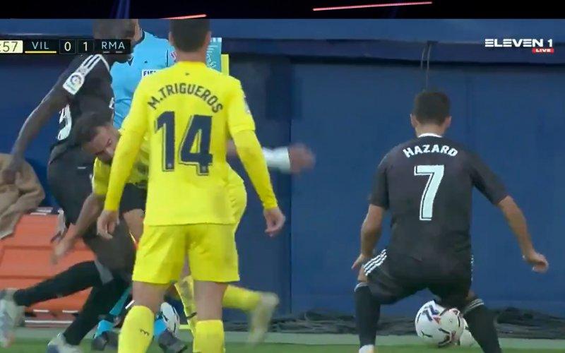Eden Hazard beëindigt carrière van tegenstander (VIDEO)