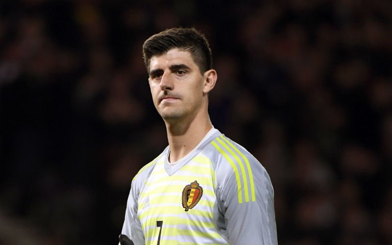 Courtois over collega-Rode Duivel: