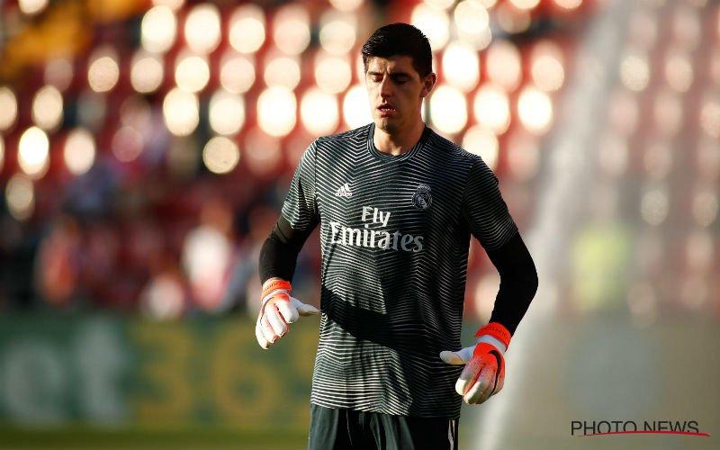 'Zware opdoffer voor Courtois bij Real Madrid'