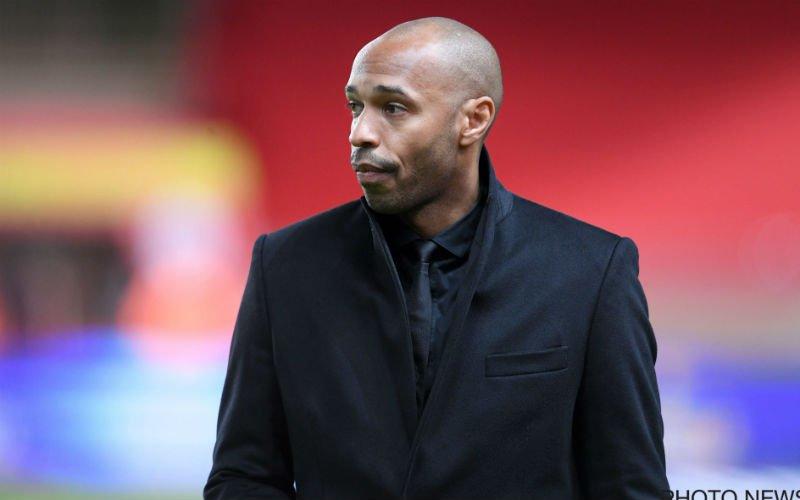 'AS Monaco ontslaat Thierry Henry al'