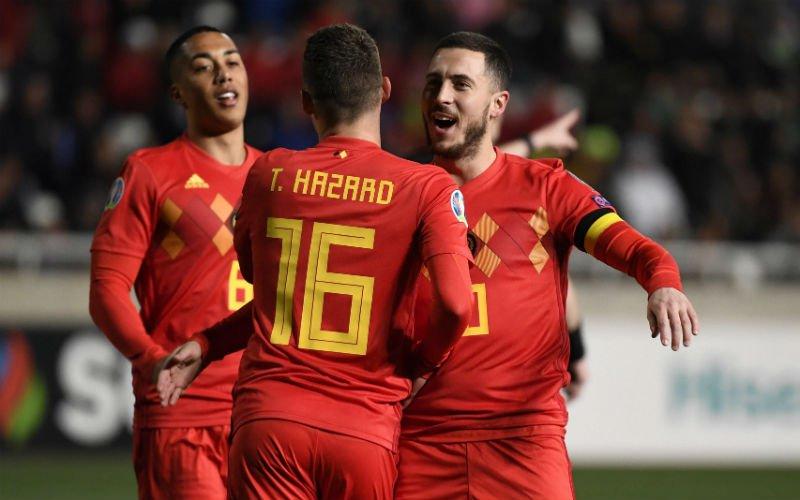 Unieke actie bij Unibet: pak 10 (!) keer je inzet als België wint van Kazachstan