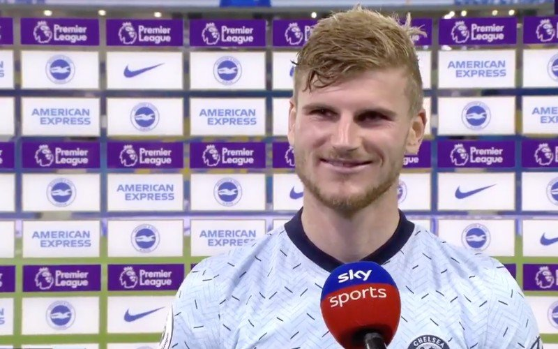 Timo Werner geeft ge-wel-dig interview na debuut in Premier League (VIDEO)