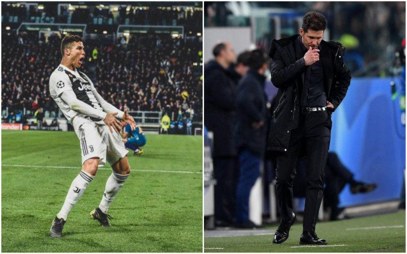 Ronaldo daagde hem keihard uit, zó reageert Simeone nu
