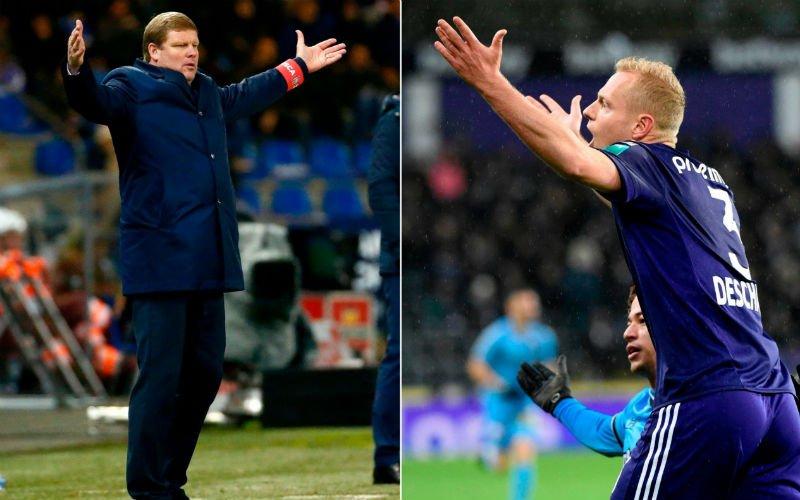 'Anderlecht neemt besluit over toekomst van Deschacht'