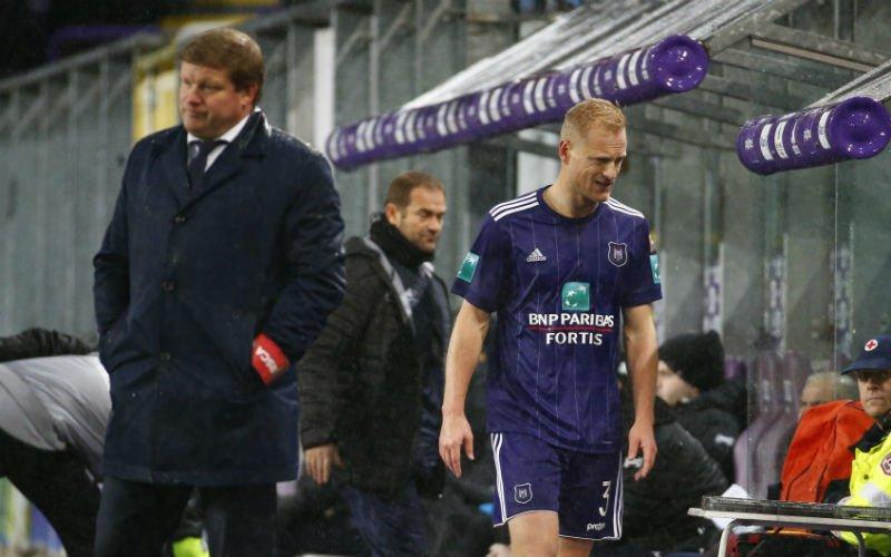 'Olivier Deschacht weg bij Anderlecht'