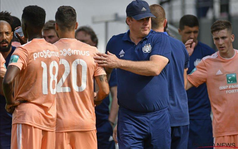 'Twee Anderlecht-spelers kunnen Hein Vanhaezebrouck niet overtuigen'