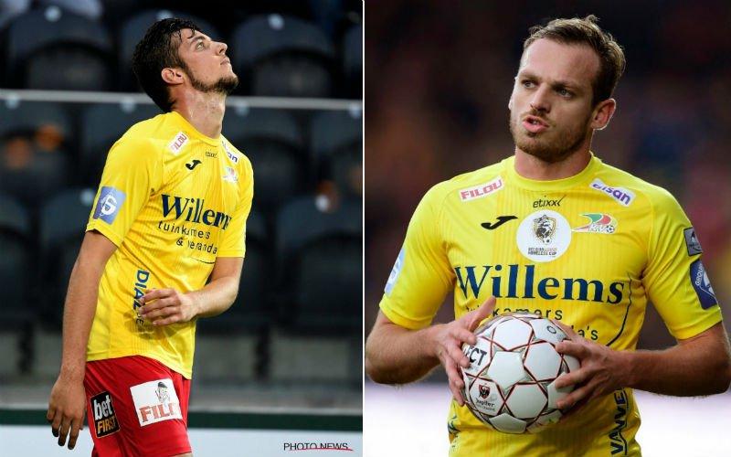 'KV Oostende grijpt in en gooit De Bock en Vanlerberghe eruit'