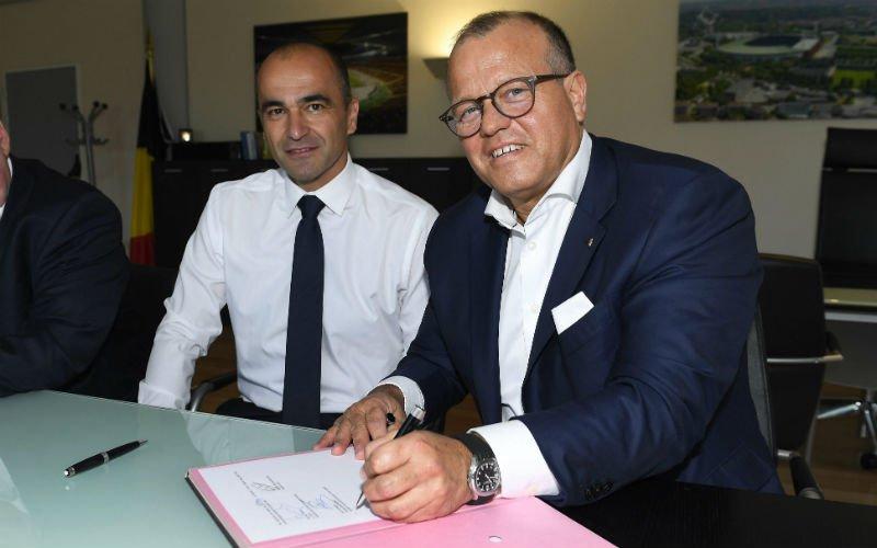Bart Verhaeghe sluit een vertrek van Roberto Martinez na het WK niet uit